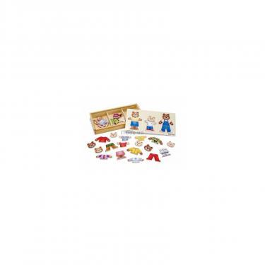 Развивающая игрушка Melissa&Doug Одень семью медведей Фото
