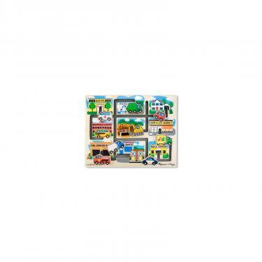 Развивающая игрушка Melissa&Doug Лабиринт-пазл Машинки Фото