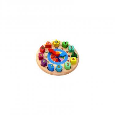 Развивающая игрушка WoodyLand Часы Фото