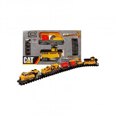 Игровой набор Toy State Железндорожный строительный експрес CAT Фото 2
