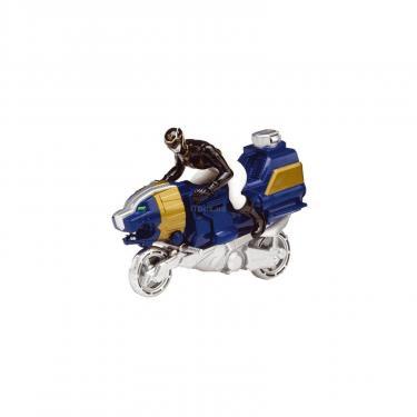 Фигурка Power Rangers Транспорт Sea Leon Cycle и Черный рейнджер Фото