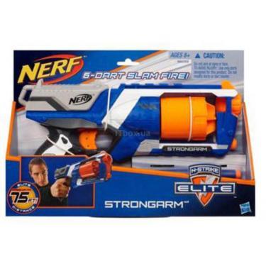 Игрушечное оружие Hasbro Бластер Элит Стронгарм Фото
