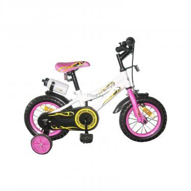 Детский велосипед Miracolo 12K127-WHITEwithPink Фото