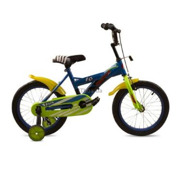 "Детский велосипед Premier Sport 16"" blue Фото 1"