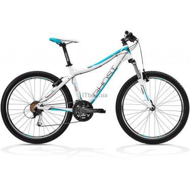 Велосипед Ghost MISS 1800 52 2013 White/Brown/Petrol Фото 1