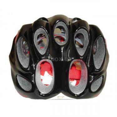 Шлем CatLike Whisper Plus Deluxe Negro-Rojo MD BRILLO S.V. Фото 3