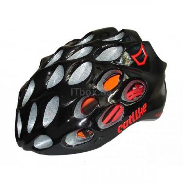 Шлем CatLike Whisper Plus Deluxe Negro-Rojo MD BRILLO S.V. Фото