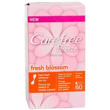 Ежедневные прокладки Carefree Breeze Blossom Fresh 60 шт Фото
