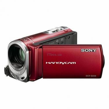 Цифровая видеокамера SONY DCR-SX44Esilver Фото 1