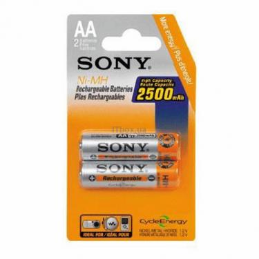 Аккумулятор SONY AA R6 2500mAh  2шт. Фото 1