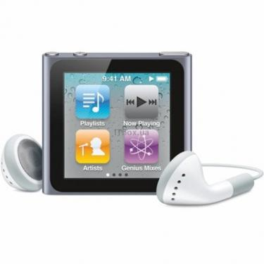mp3 плеер Apple iPod Nano 6Gen 8GB Blue Фото