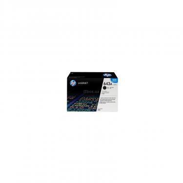 Картридж HP CLJ   643A Black для 4700 Фото