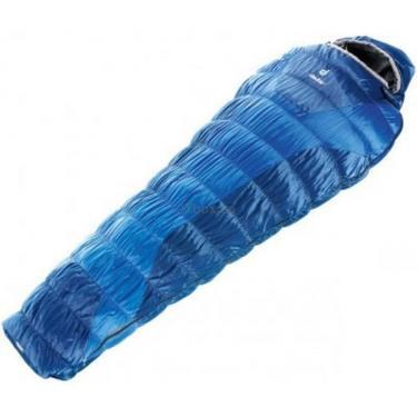 Спальный мешок Deuter Exosphere +2° SL cobalt-steel левый Фото