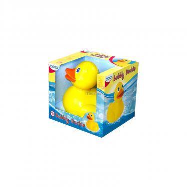 Игрушка для ванной BeBeLino Чудесная уточка, умеющая пускать пузыри Фото 1