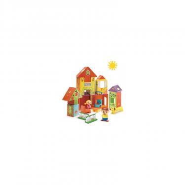 Набор для творчества Djeco Дом, 14 кубиков и 3 персонажа Фото