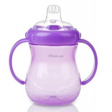 Поильник-непроливайка Nuby фиолетовый Фото