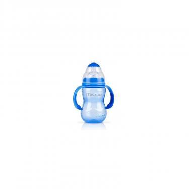 Бутылочка для кормления Nuby голубая Фото