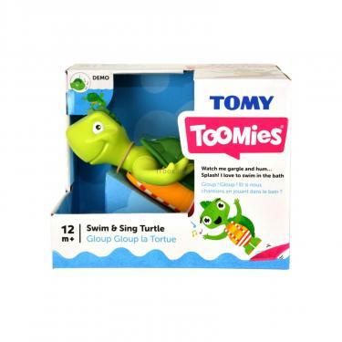 Игрушка для ванной Tomy Поющая черепашка Фото