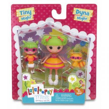Кукла Lalaloopsy Mini Сестрички Дина Великолепная Крошка Дина (набо Фото 1