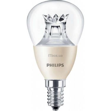 Лампочка PHILIPS lustre DT E14 6-40W 230V 827 P48 CL Master Фото