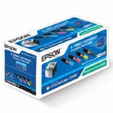 Картридж EPSON AcuLaser C1100 Bundle (C/M/Y/Bk) Фото 1