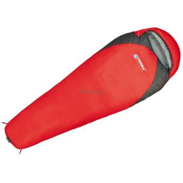 Спальный мешок Terra Incognita Junior 200 L red / gray Фото