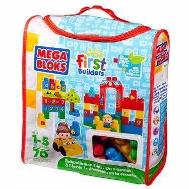 Конструктор Mega Bloks Набор в сумке Обучение в школе Фото 1
