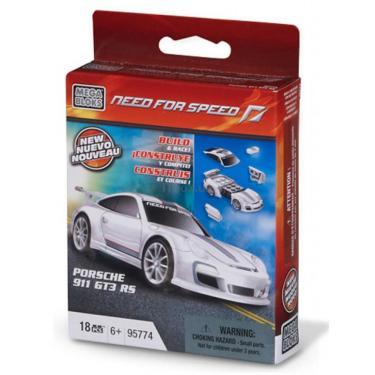 Конструктор Mega Bloks Автомобиль Porsche 911 GT3 RS Фото 1