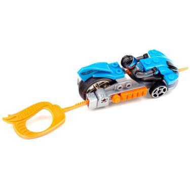 Конструктор Mega Bloks Набор с мехускорителем Синий гоночный автомобиль Фото 2