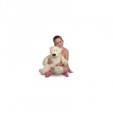 Мягкая игрушка Melissa&Doug Большой плюшевый мишка Ванилька, 52 см Фото 1