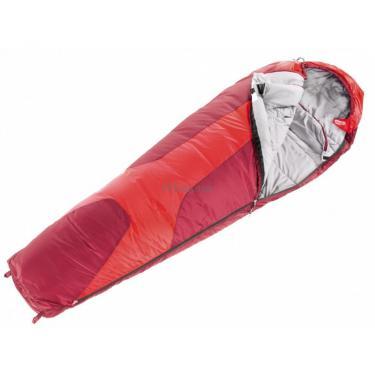 Спальный мешок Deuter Orbit 0 SL fire-cranberry левый Фото