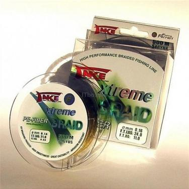 Шнур Lineaeffe Take Xtreme Braid PE-FIBER Moss Green Фото