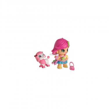 Игровой набор Pinypon Сумочка с куклой и пуделем Фото 1