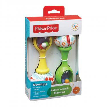 Погремушка Fisher-Price Веселые маракасы Фото 1