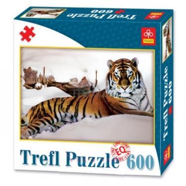 Пазл TREFL Тигр в снегах Фото