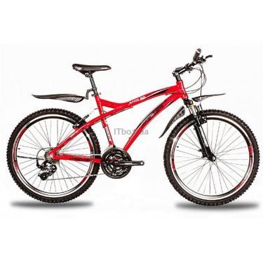 Велосипед Premier Bandit 2.0 красный с черно-белым Фото