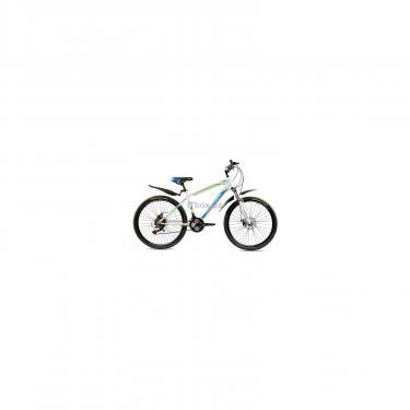 """Велосипед Premier Captain Disc 17"""" белый с голубым-зеленым-черным Фото"""