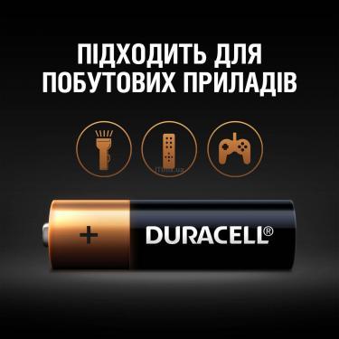 Батарейка Duracell AA MN1500 LR06 * 4 Фото 4