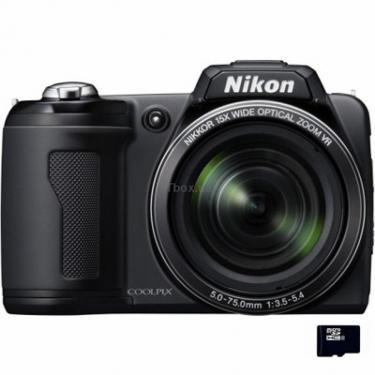 Цифровой фотоаппарат Nikon Coolpix L110 black Фото 1