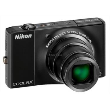Цифровой фотоаппарат Nikon Coolpix S8000 black Фото 1