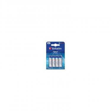 Батарейка Verbatim AA alcaline 4pcs Фото
