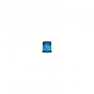 Диск CD Verbatim 700Mb 52x Cake box 100шт Extra Фото