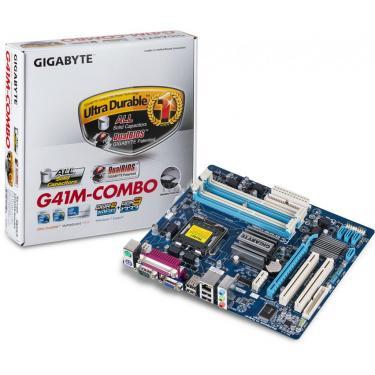 Материнская плата GIGABYTE GA-G41M-Combo Фото 1