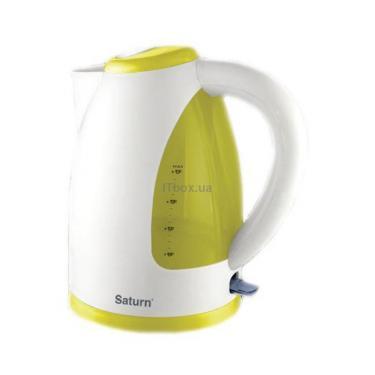 Электрочайник SATURN ST-EK0005 W Yellow Фото 1