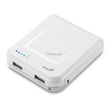 Батарея универсальная Genius ECO-U700 7800 mAh White Фото 1