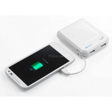 Батарея универсальная Genius ECO-U700 7800 mAh White Фото 4