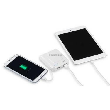 Батарея универсальная Genius ECO-U700 7800 mAh White Фото 5