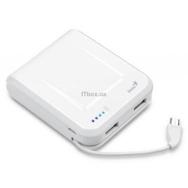 Батарея универсальная Genius ECO-U700 7800 mAh White Фото