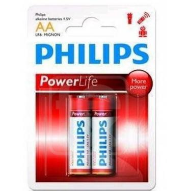 Батарейка PHILIPS LR06 PHILIPS PowerLife P2F * 2 Фото