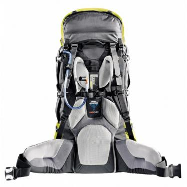 Рюкзак  Deuter Aircontact 55+10 granite-papaya Фото 1
